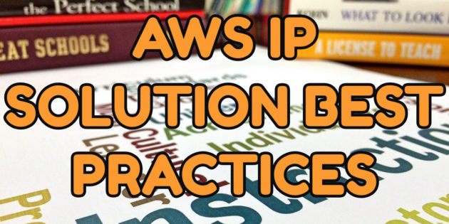 amazon aws ip soltion best practices