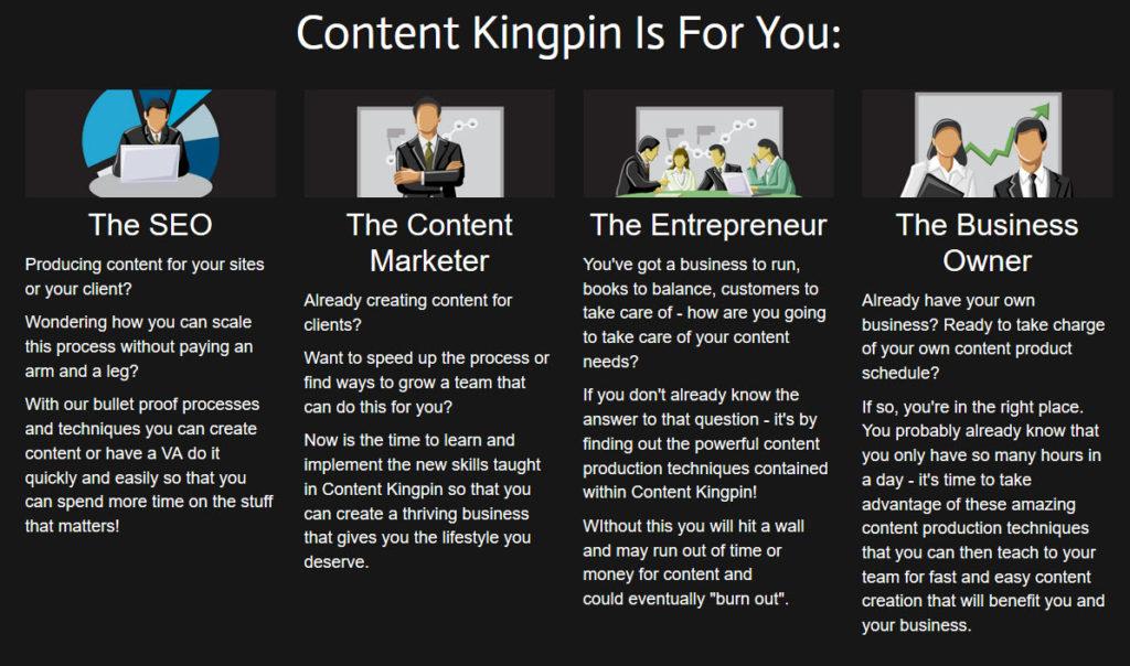 content kingpin